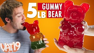World's Largest Gummy Bear thumbnail