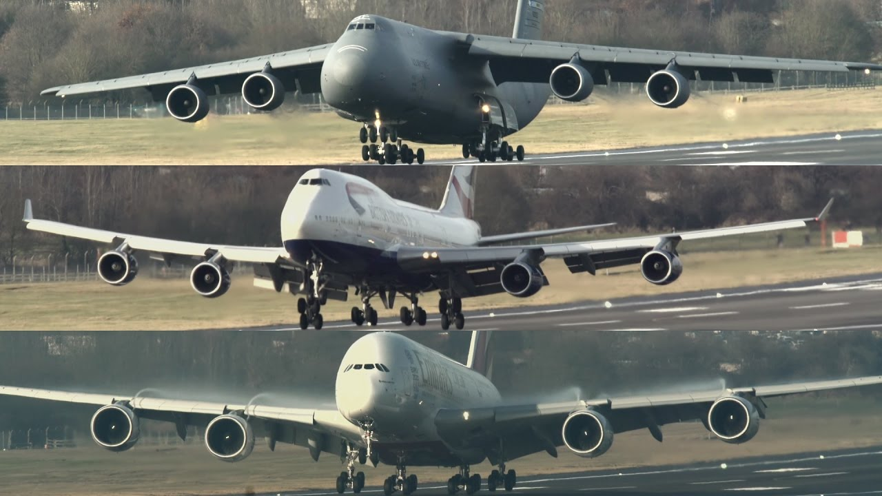 Boeing Airbus Plane Size Comparison Chart