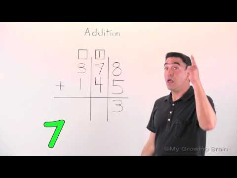 Addition with Regrouping | 3 digit | My Growing Brain