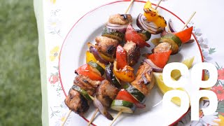 Quick And Easy Sweet Honey Chicken Kebabs