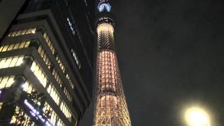 Tokyo Sky Tree shines a light for the 2020 Olympic bid