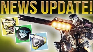 🔴LIVE! Destiny 2 HUGE NEWS UPDATE! (So Much Info I Can't Even Title it)