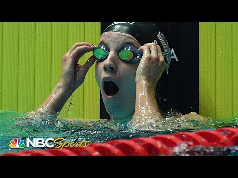 Regan Smith shatters Missy Franklin's World Record in 200m backstroke | NBC Sports