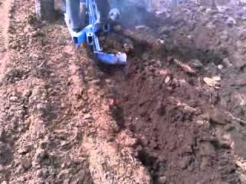 Самодельный трактор. Пахота-1, Видео, Смотреть онлайн