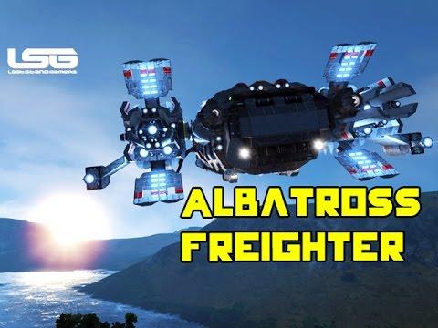 Space Engineers Albatross Interplanetary Freighter Youtube