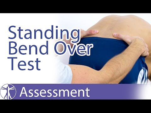 The Standing Bent Over | Standing Flexion | Vorlauf Test for SI-Joint Dysfunction