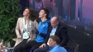 ТАТ и Дмитрий Алиев.Чемпионат Европы по фигурному катанию на коньках.2018.