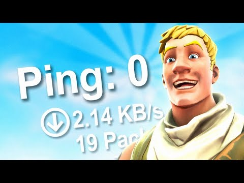 How To Get *ZERO PING* In Fortnite In Only 2 Minutes (PC/PS4/XBOX)