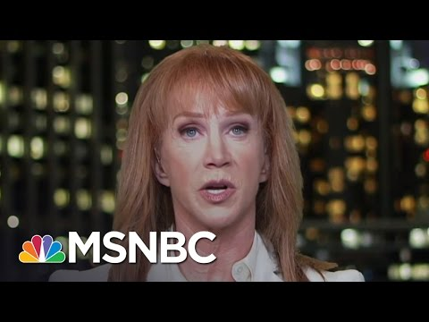 Kathy Griffin: President Donald Trump Is So Embarrassing | Hardball | MSNBC