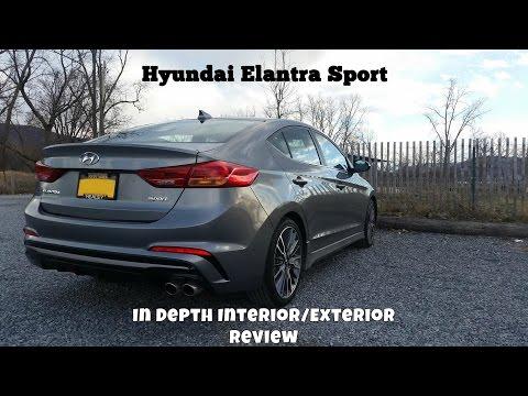 Hyundai Elantra Sport In-Depth Review