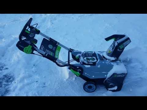 EGO 21in.56-Volt Lithium Ion Snow Blower Review