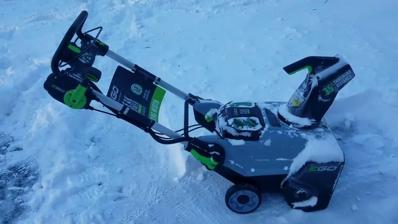 EGO 21in 56-Volt Lithium Ion Snow Blower Review