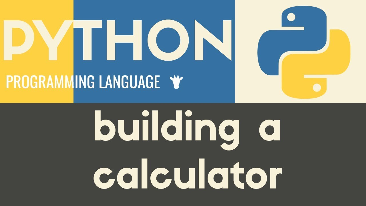 Building a Basic Calculator | Python | Tutorial 9