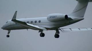 Gulfstream Aerospace GV-SP G550 Landing at Tokyo