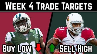 2018 Fantasy Football Advice - Week 4 Trade Targets