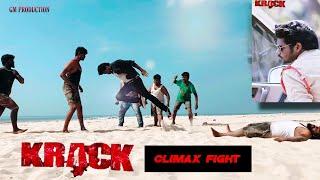 Krack Climax Vetapalem Fight with pre-climax by Prabhas Chandu