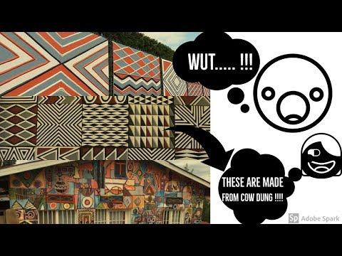 Imigongo :Cowdung Art Of Rwanda in a nut shell ... Wondrous Rwanda