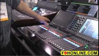 Yamaha CL5 Digital Live Sound Mixing Console - FOH TV Video Demo