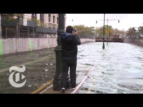 Hurricane Sandy's Impact on Lower Manhattan | The New York Times