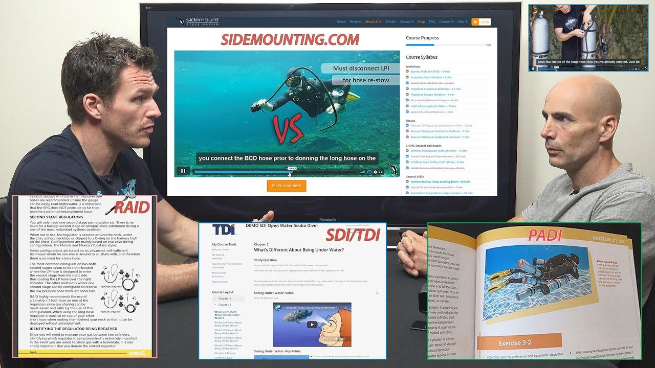 Agency eLearning vs Sidemounting.com