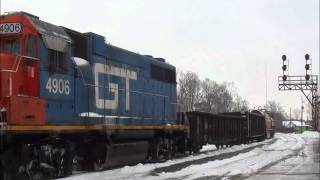 Grand Trunk Western GP38-2 On CN 385!