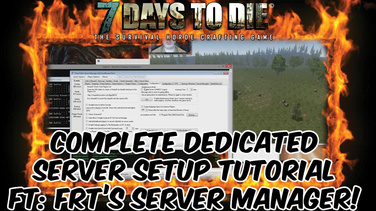 7 days to die dedicated server nullreferenceexception