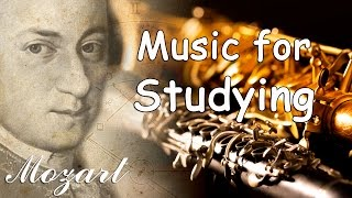 Mozart Classical Music for Studying, Concentration, Relaxation, Reading | Study Instrumental Music
