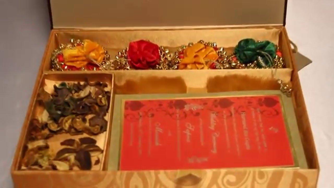 Ceremonial Invitation Card by Laxmi Singla - YouTube