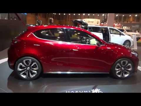 Mazda Hazumi at Madrid Motor Show 2014 | AutoMotoTV
