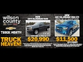 Chevy Truck Month Super Deals at Wilson County Motors A Bone Family Tradition SInce 1927!