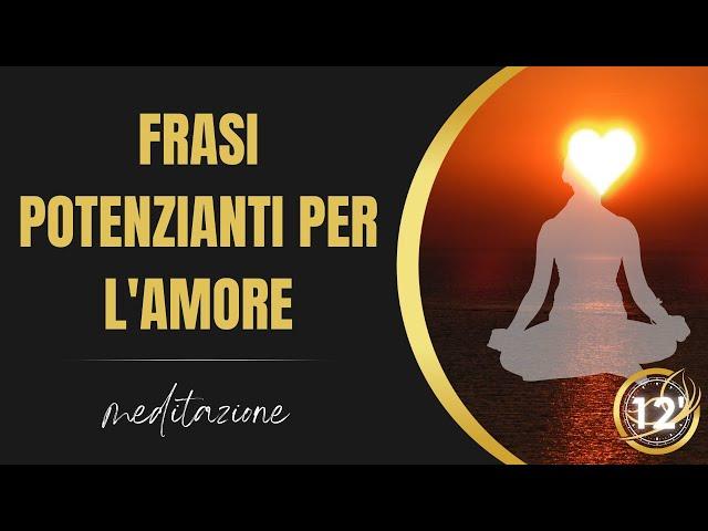 Affermazioni positive per l'amore