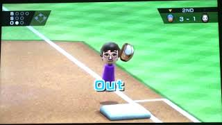 Wii Sports Raging And Funny Moments-Baseball