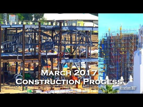 Star Wars Land & Guardians of the Galaxy Ride Construction Progress