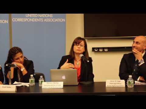 UN Press Conference to Oppose UNHRC Elections of Abusers: Maria Werlau