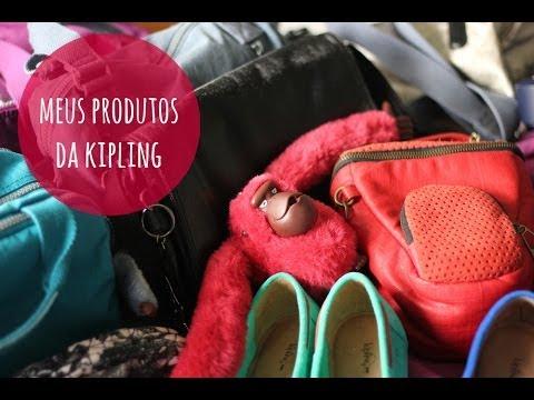 COLEÇÃO: PRODUTOS DA KIPLING
