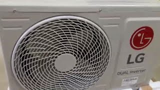 LG Dual Cool Inverter AC Q18TUXA Q18AUXA - Full copper model unboxing and initial review