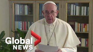 UNGA 2020: Pope Francis says the coronavirus pandemic has exposed human frailty