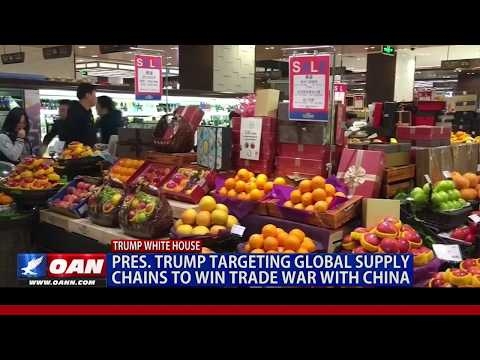 President Trump Targeting Global Supply Chains to Win Trade War with China