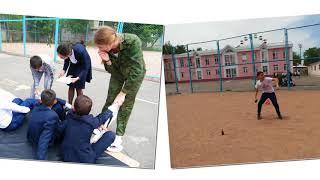 СШОД на трех языках 6.05.2016 Обучение Молодого бойца среди 6-х классов
