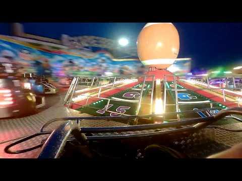 Jamie Clark's Superbowl (ARM UK) at night time onride