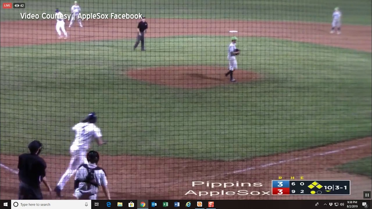 AppleSox Walk Off 2019-08-02