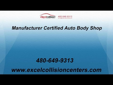 Manufacturer Certified Auto Body Shop