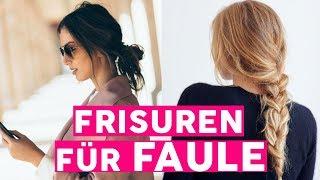 Schnelle Frisuren: 6 Haar-Hacks für Faule