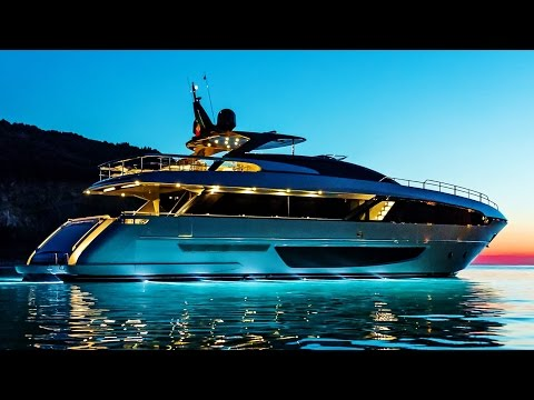Incredible and Fascinating Riva 100' Corsaro New Luxury Superyacht (by Riva Yachts)