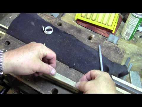 Double sided tape for sanding blocks