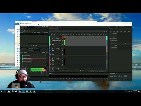 Professional Setup Audio for Live Streaming Twitch / etc Adobe Audition CC + OBS / xSplit