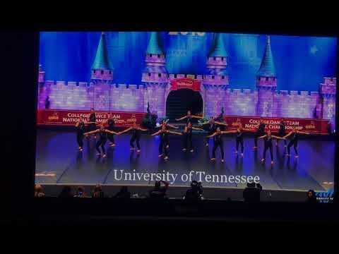 University of Tennessee Dance Team Jazz Finals 2018