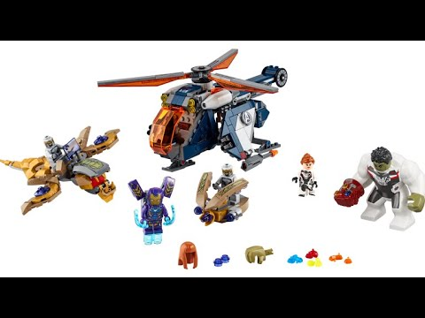 New Lego Marvel Sets 2020 LEGO 2020 AVENGERS ENDGAME SET REVEALED   YouTube