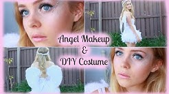 Halloween | Angel Makeup & DIY Costume