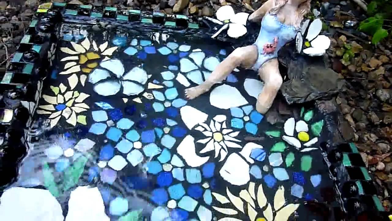 Mosaic Art And Craft Birdbath Ozmosaics Australia